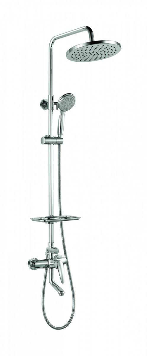 Смеситель Lemark Linara LM0462C для ванны и душа с регулируемой высотой штанги